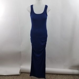 Victoria Secret Ruched Scoop Neck Sleeveless Long